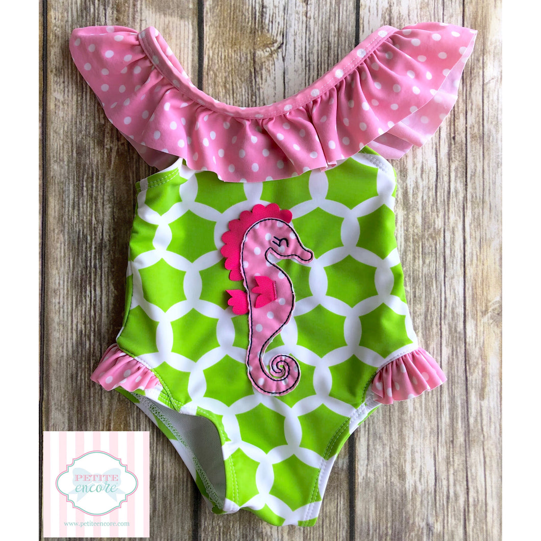 One piece swimsuit by Nursery Rhyme 6-9m