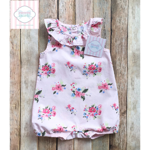 Floral one piece 3-6m