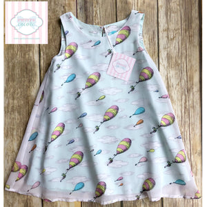 Dr. Seuss dress 3T