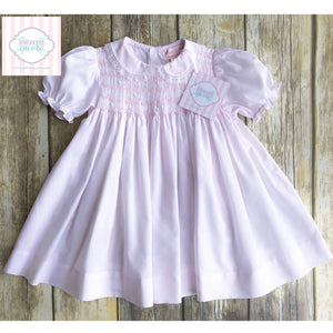 Smocked dress by Petit Ami 6m