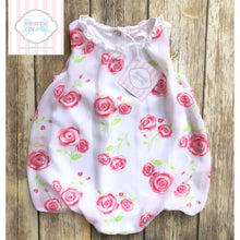 Rose themed bubble 9-12m
