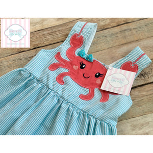 Crab themed dress by Nannette 4