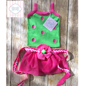 Mud Pie Baby two piece set 0-6m
