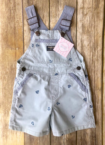 Osh Kosh nautical overalls 2T
