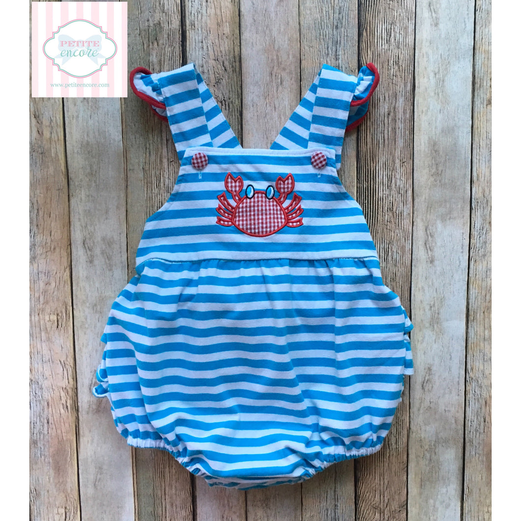 Classic Whimsy crab themed bubble 3T