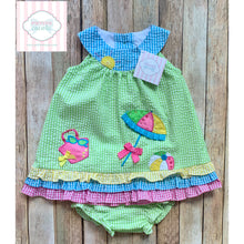 Beach themed two piece 12m