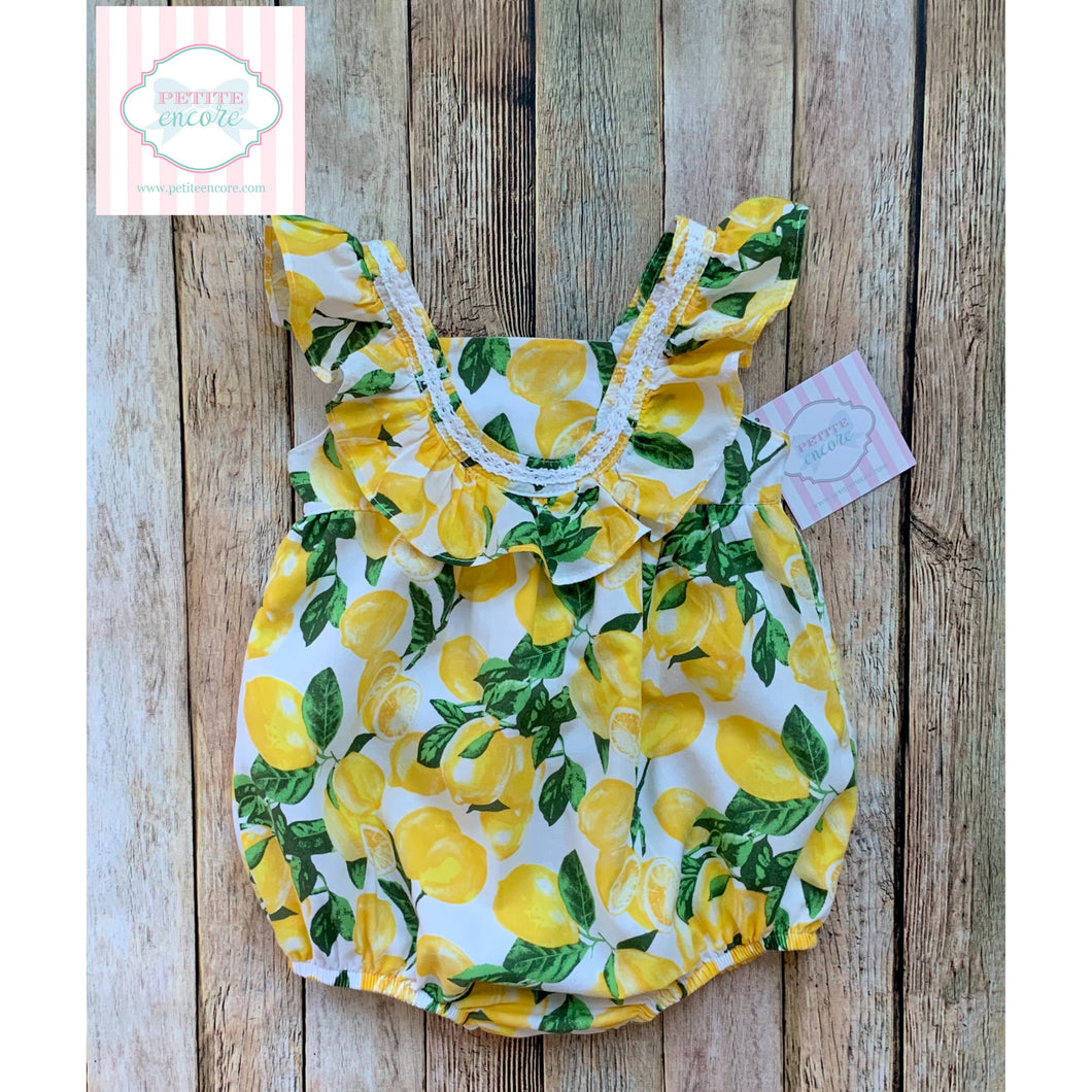 Lemon themed bubble by Cynthia Rowley 18m