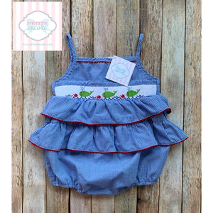 Smocked bubble by Vive La Fête 24m