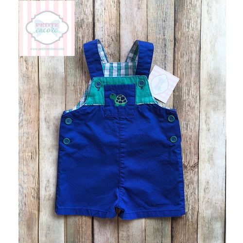 Overalls by Kitestrings 3-6m