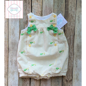 Turtle themed one piece by Gymboree 3-6m