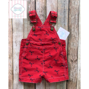 Lobster themed overalls by Le Top 6m