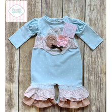 Purrfect by Haute Baby one piece 0-3m