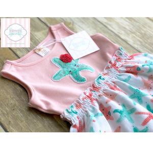 Gymboree starfish dress 12-18m