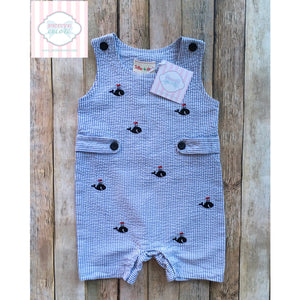 Whale themed one piece by Toffee Apple 12m