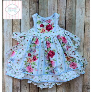 Floral dress by Laura Ashley 12m