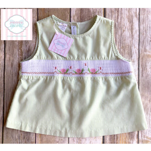 Smocked top 6X