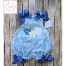 Beach themed bow bubble by The Bailey Boys 24m