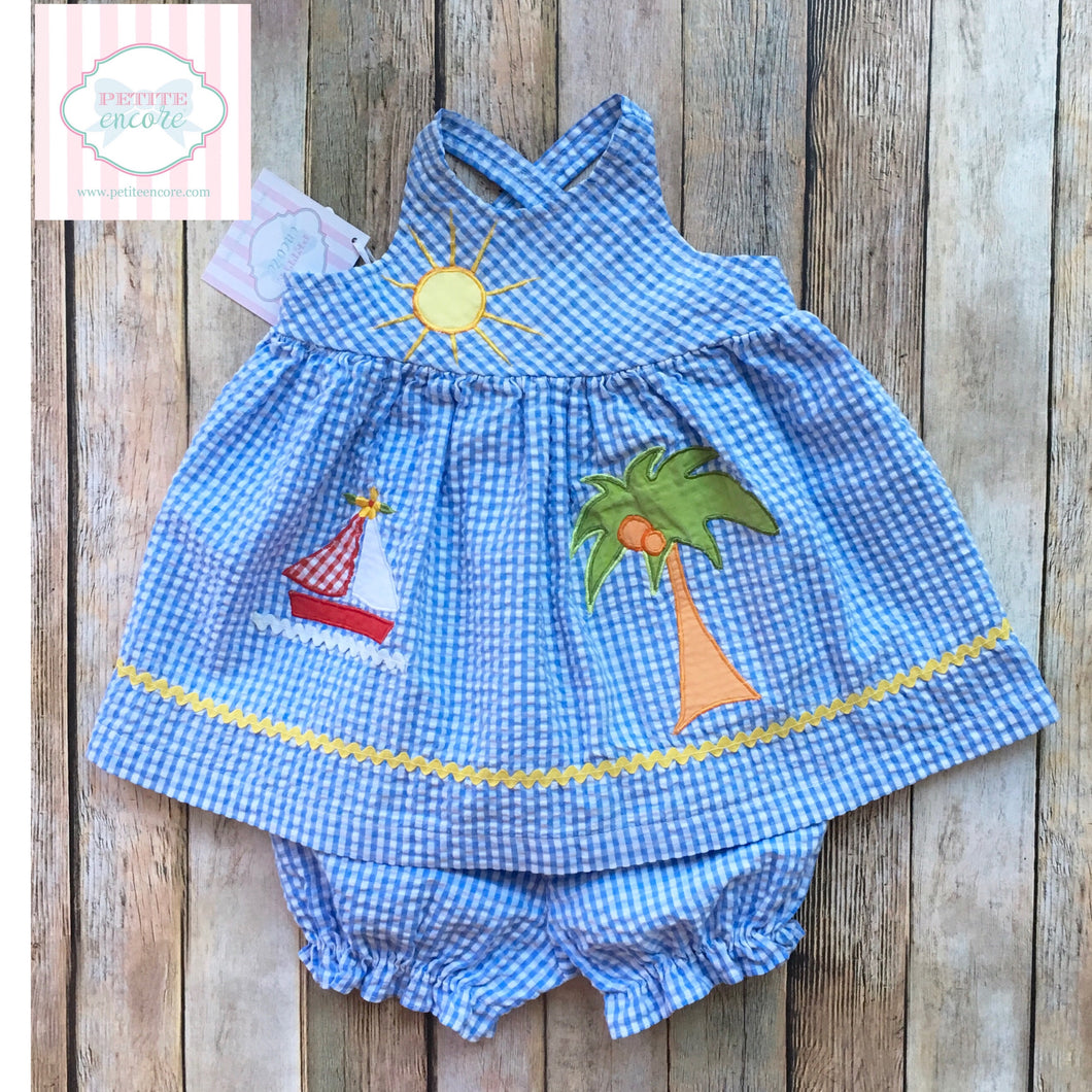 Two piece 3-6m