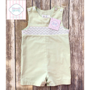 Smocked one piece by Strasburg 18m