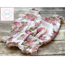 Floral one piece 0-3m