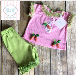Easter two piece by Peaches 'n Cream 12m