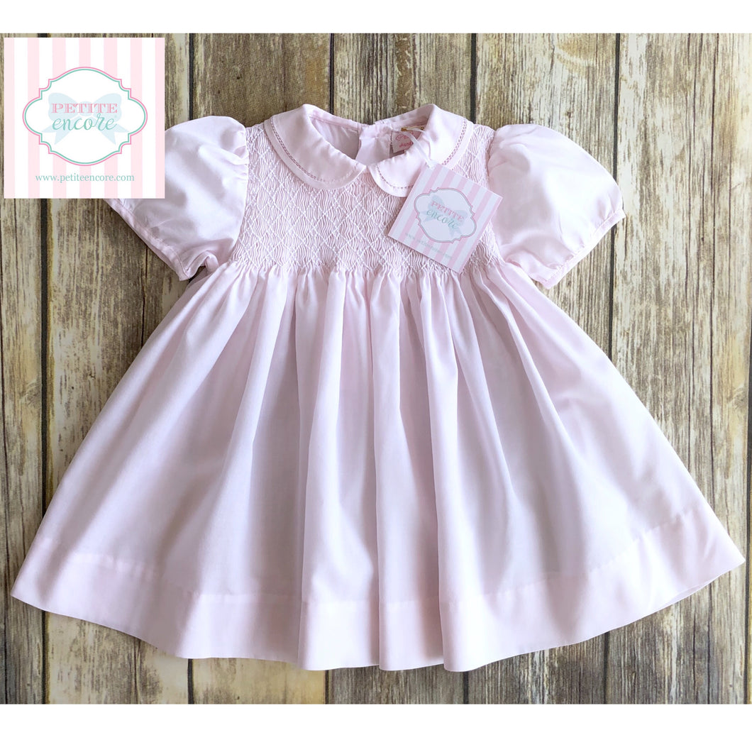 Smocked dress by Petit Ami 9m