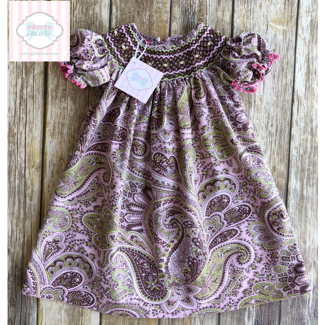 Smocked dress by Claire & Charlie 18m