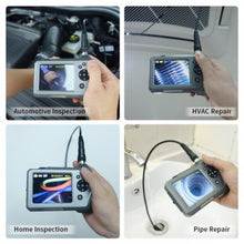 Load image into Gallery viewer, NTS150RS Industrial Endoscope with 3.5-inch HD Screen and different types of cameras