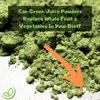 Can Green Juice Powders Replace Whole Fruit & Vegetables In Your Diet?