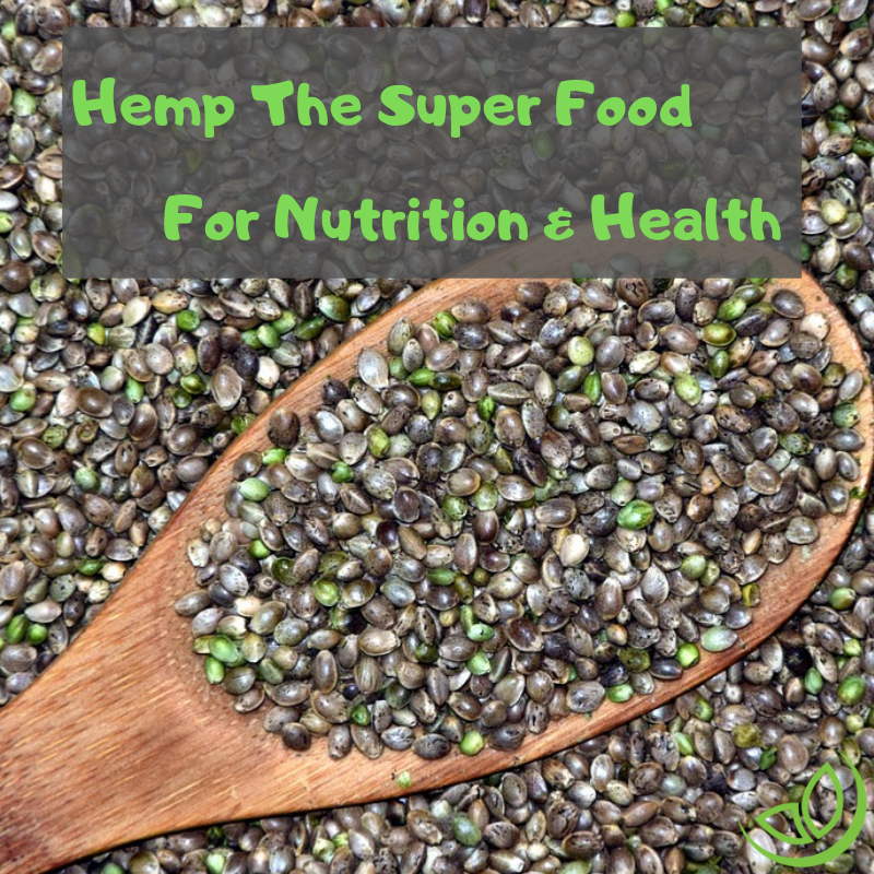 hemp health and nutrition benefits