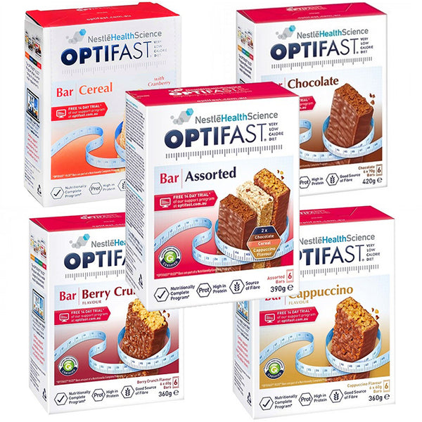 assorted optifast products