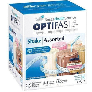 10 Pack - Optifast Shake - Assorted Flavours-Optifast-Curavita