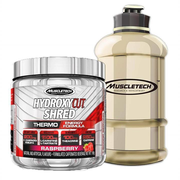 Muscle-tech Hydroxycut SHRED Raspberry 30 Serves At Elite Supps