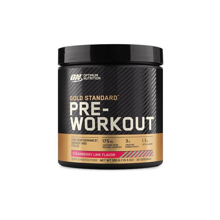 Optimum Nutrition Gold Standard Pre-Workout Strawberry Lime 30 Serves At Elite Supps