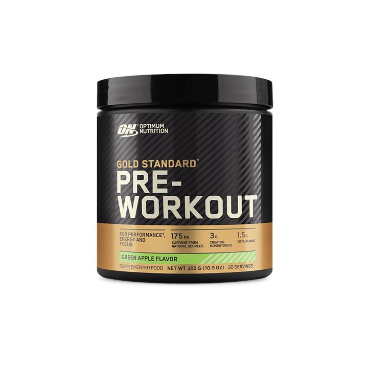 Optimum Nutrition Gold Standard Pre-Workout Green Apple 30 Serves At Elite Supps