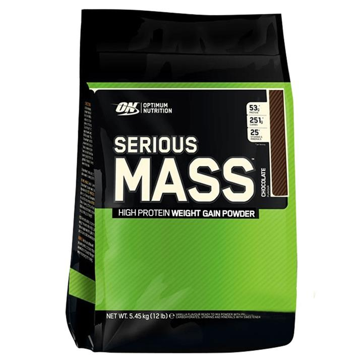 Optimum Nutrition Serious Mass Chocolate 5.4Kg At Elite Supps