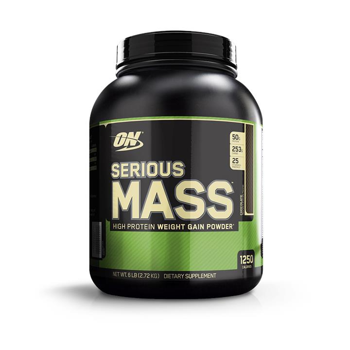 Optimum Nutrition Serious Mass Vanilla 5.4Kg At Elite Supps