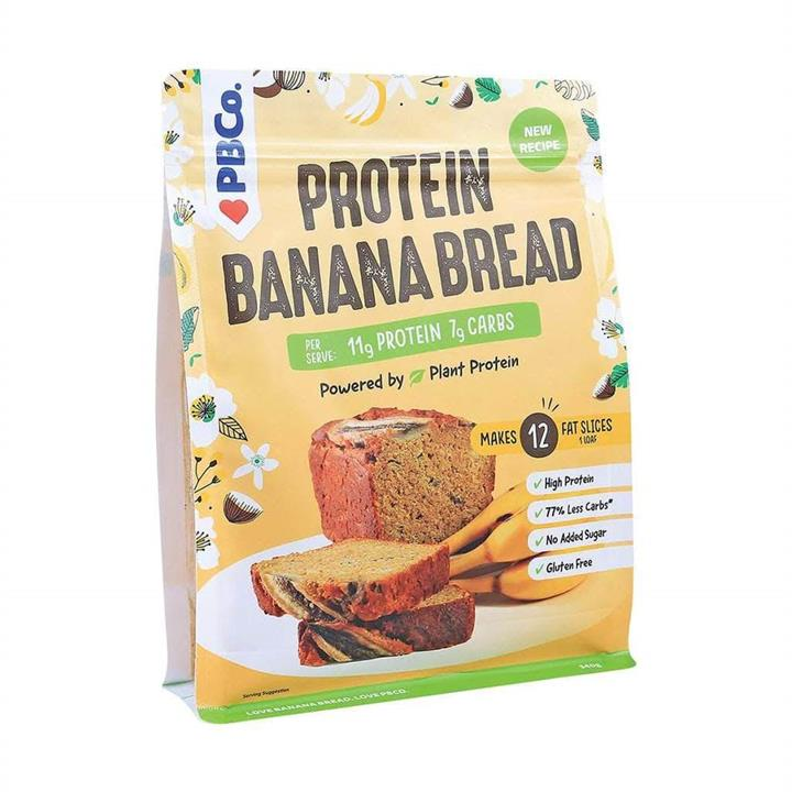 PBCO High Protein Banana Bread Mix 340g At Elite Supps