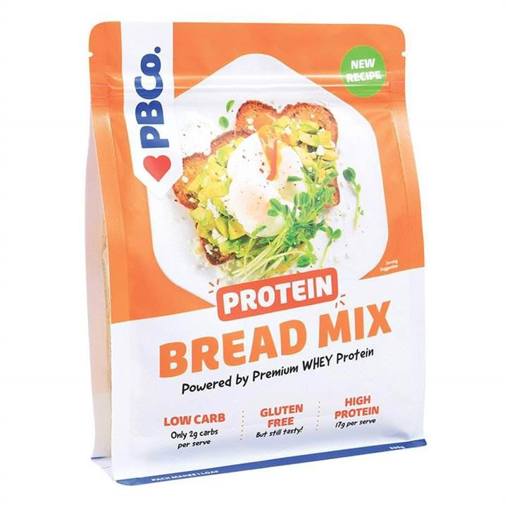 PBCO High Protein Bread Mix 330g At Elite Supps