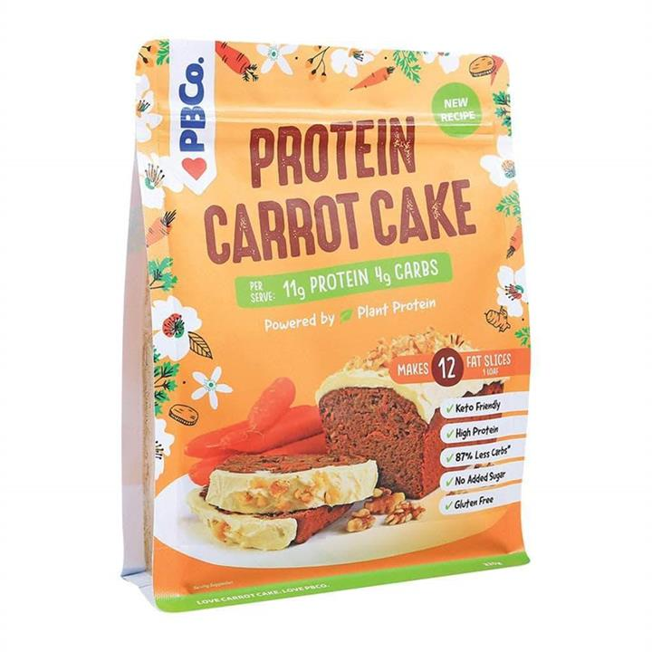 PBCO High Protein Carrot Cake Mix 320g At Elite Supps