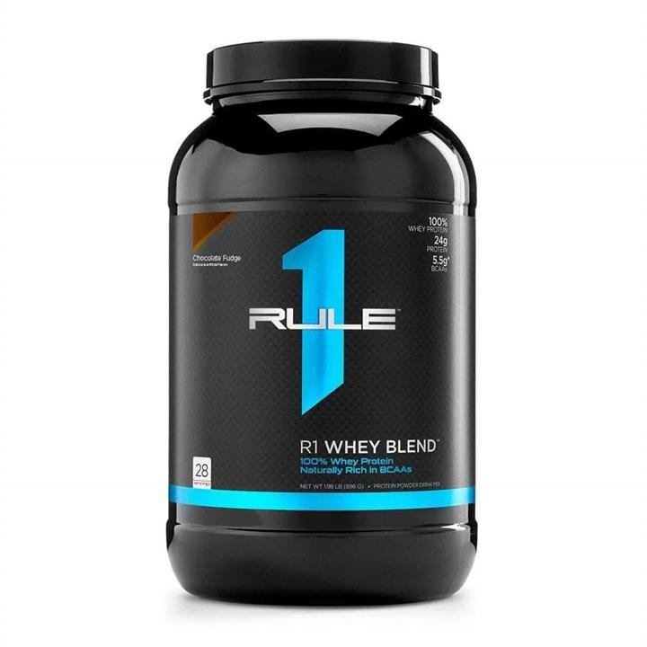 Rule 1 R1 Whey Blend Protein Powder Chocolate Fudge 28 Serves At Elite Supps