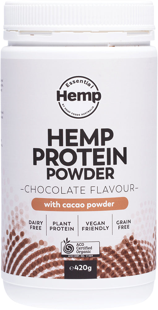 Organic Hemp Protein Powder - 430 gms