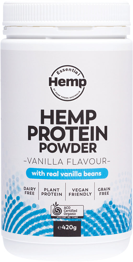 Essential Hemp Protein Powder - Vanilla - 420 gms