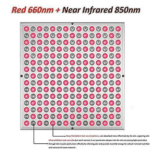 45W Red Led Light Therapy Deep Red 660nm and Near Infrared 850nm-XHGrow-Curavita