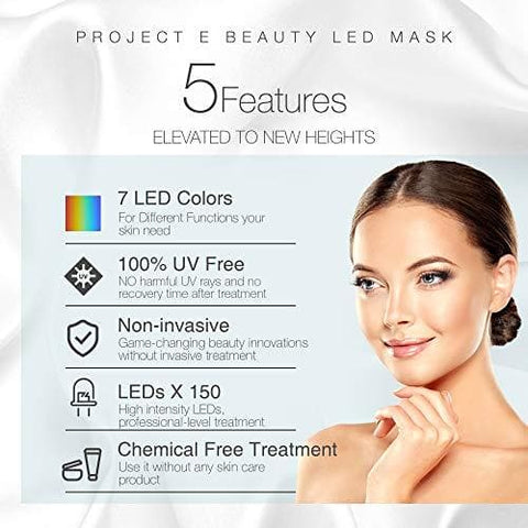 Project E Beauty Skin Rejuvenation Photon Mask