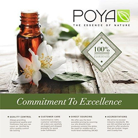 POYA Cocunut Fractionated 100% Pure Carrier Oil, 240 milliliters