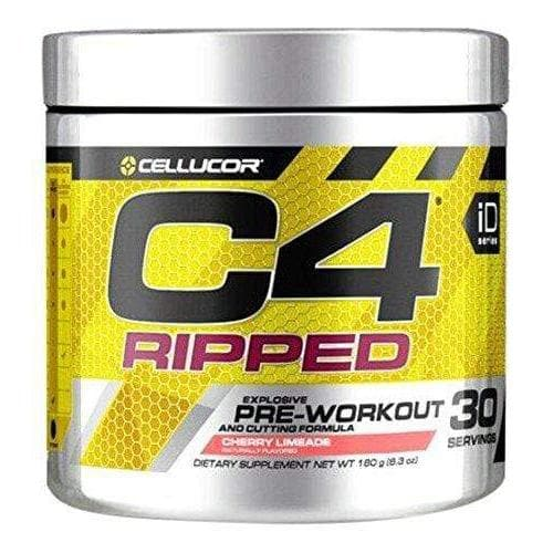 Cellucor C4 Ripped Cherry Limeade Pre Workout Powder 30 Servings