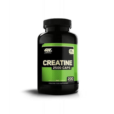 Optimum Nutrition Creatine 2500mg, 200 Capsules-Curavita