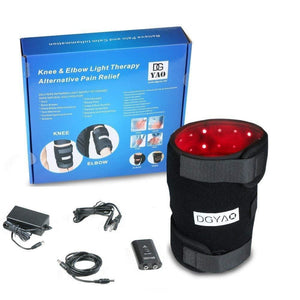 660nm Red Light and 880nm Infrared Light Therapy - Knee Elbow Pain Relief Device at Home-TUOY-Curavita