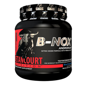 Betancourt Nutrition B-NOX Androrush Pre-Workout - 633g - Blue Raspberry-Curavita